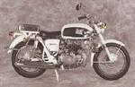 1966 Honda CB450 Police Special