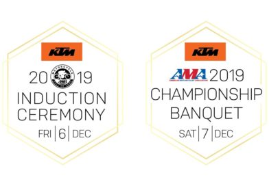 KTM announced as title sponsor for 2019 AMA Legends & Champions Weekend
