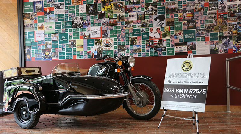 Don't miss the chance to win this 1973 BMW R75/5 sidecar rig