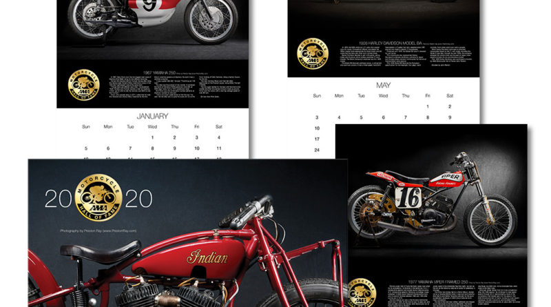 2020 AMA Motorcycle Hall of Fame calendar now available