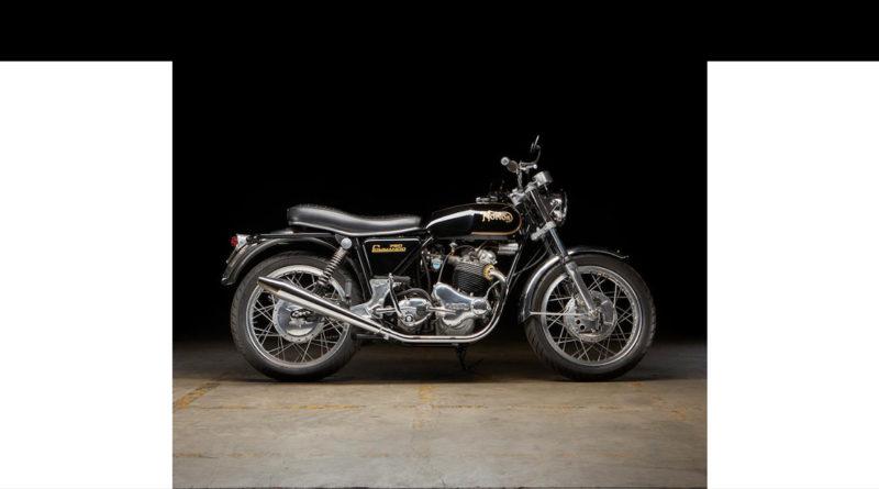 Bonhams offers 1973 Norton Commando and more in Las Vegas auction