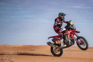 Ricky Brabec Riding in Desert