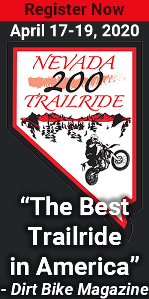 Nevada 200 Trailride | April 17-19, 2020