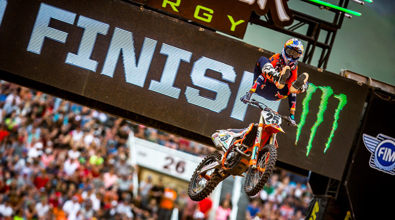 Monster Energy AMA Supercross set to resume racing in Salt Lake City on May 31