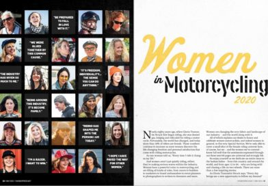 'Thunder Press' recognizes women motorcyclists