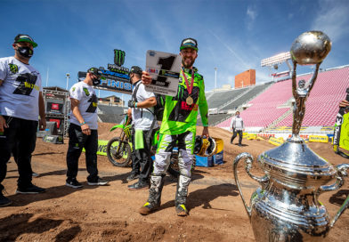 Eli Tomac wins his first AMA Supercross title