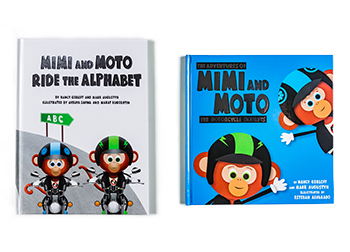 Mimi and Moto Book Collection