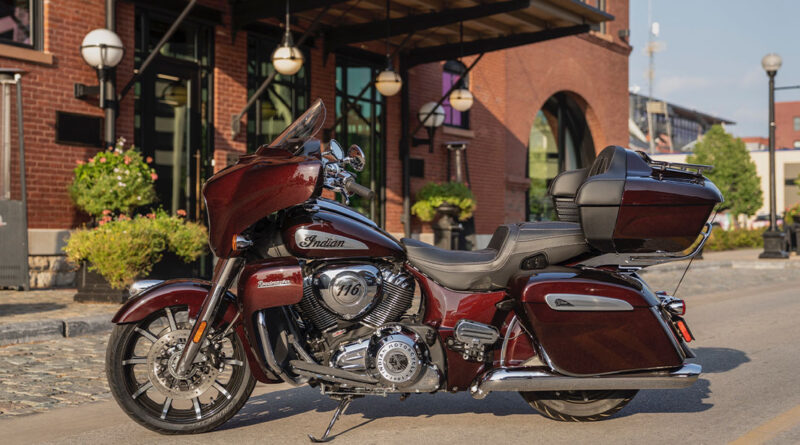 New Indian Roadmaster Limited offers touring comfort and style