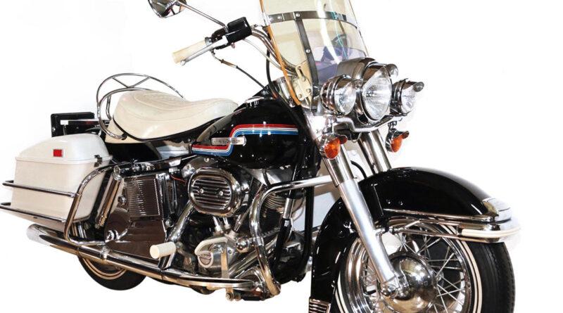 Elvis Presley's 1975 Harley-Davidson FLH to be auctioned Nov. 28