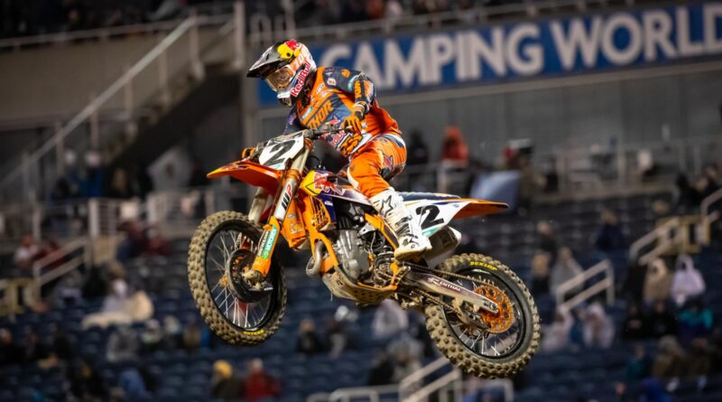 Cooper Webb dominates Orlando and tightens 450SX title chase