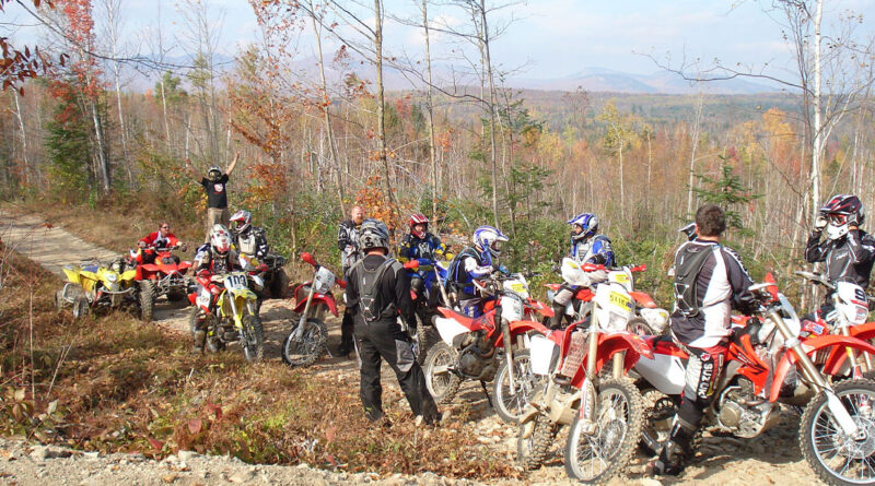 New Hampshire's Jericho Mountain State Park offers miles of OHV trail excitement