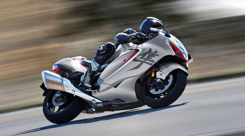 Suzuki announces 2022 Hayabusa sport bike