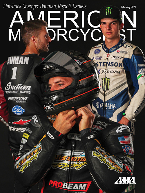 American Motorcyclist February 2021 Cover
