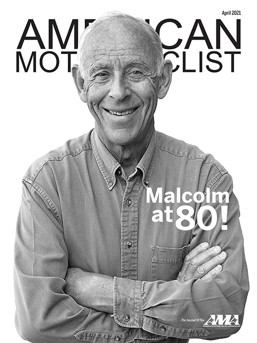 American Motorcyclist April 2021 Cover