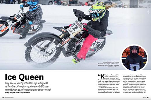 American Motorcyclist Ice Racing
