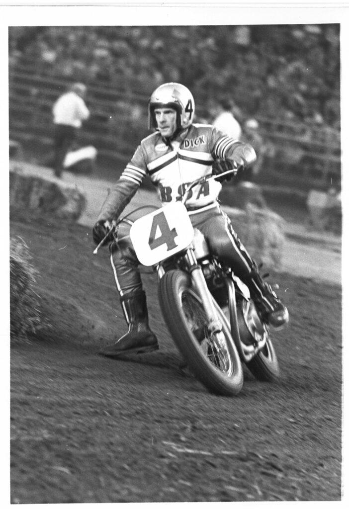 Dick Mann racing