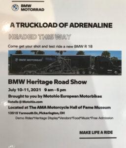BMW Heritage Roadshow