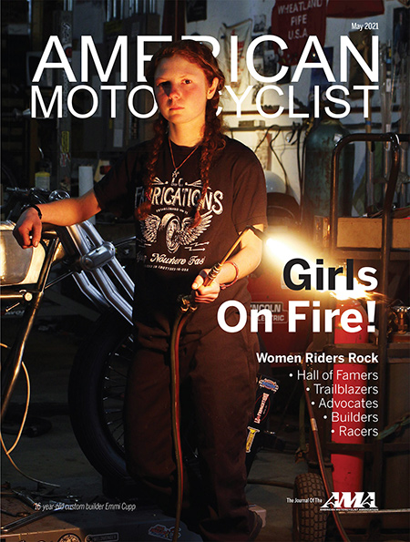 American Motorcyclist May 2021 Cover