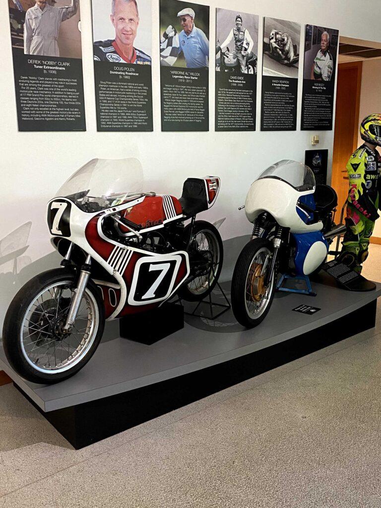 Spencer Yamaha TZ at AMA Motorcycle HOF Museum