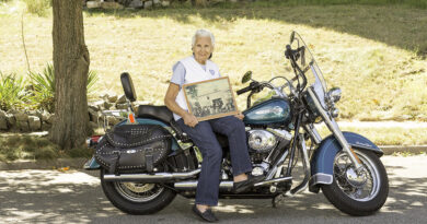 AMA Motorcycle Hall of Famer Gloria Tramontin Struck