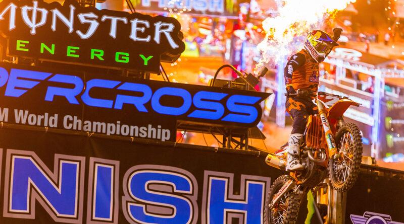 Cooper Webb, 2021 AMA Supercross 450 Champion