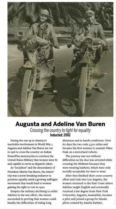 Augusta and Adeline Van Buren