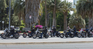 Motorcyclist Profiling group riding