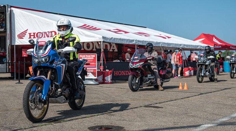 VMD Demo Rides Honda