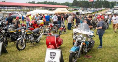AMA Vintage Motorcycle Days 2021 Bike Show