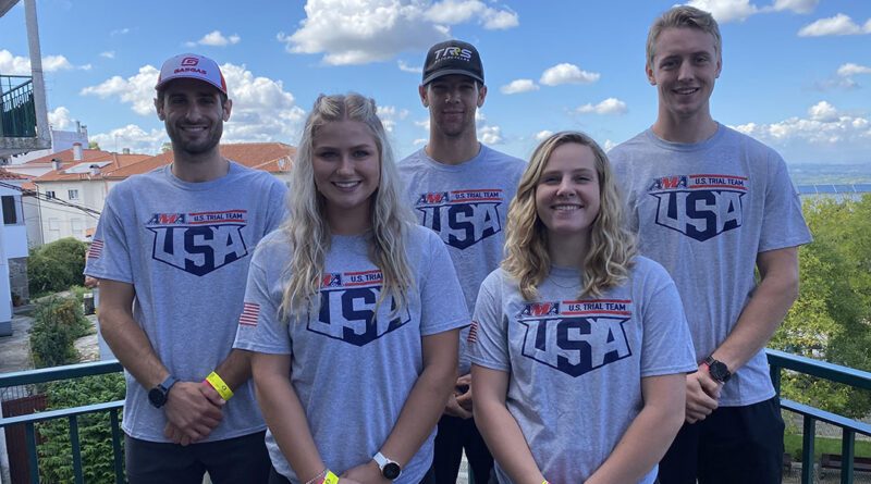The U.S. team at the 2021 FIM Trial des Nations