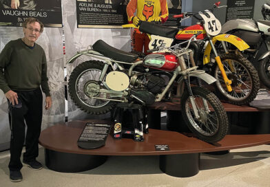 Russ Darnell visits AMA Motorcycle Hall of Fame Museum