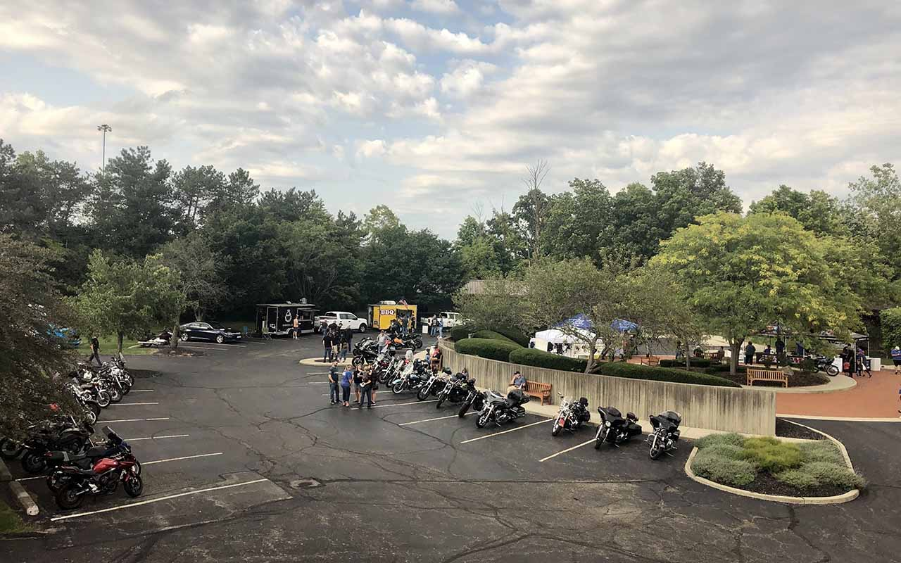 Riders come out for AMA Motorcycle Hall of Fame Fall Bike Night