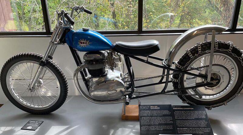 1967 BSA 650 exhibit