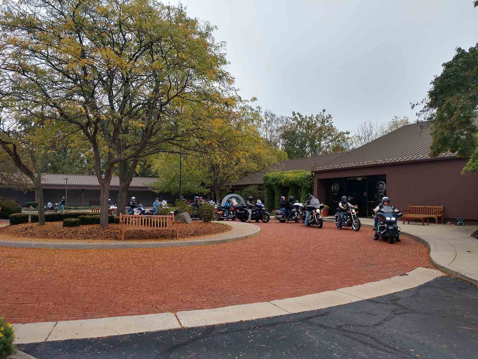 2021 Ride for Scouting started at the AMA Motorcycle Hall of Fame