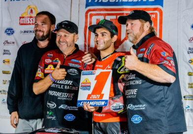 American Flat Track 2021 AMA Grand National Champion Jared Mees